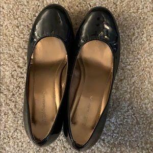 BCBG platform heels